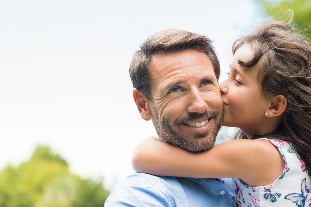 sonhar que beija o pai